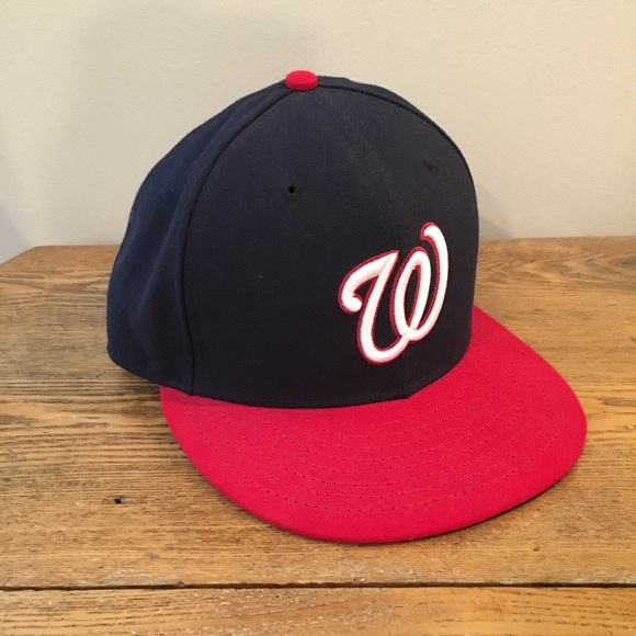 28132bf9 Washington Nationals New Era 59FIFTY Fitted Hat